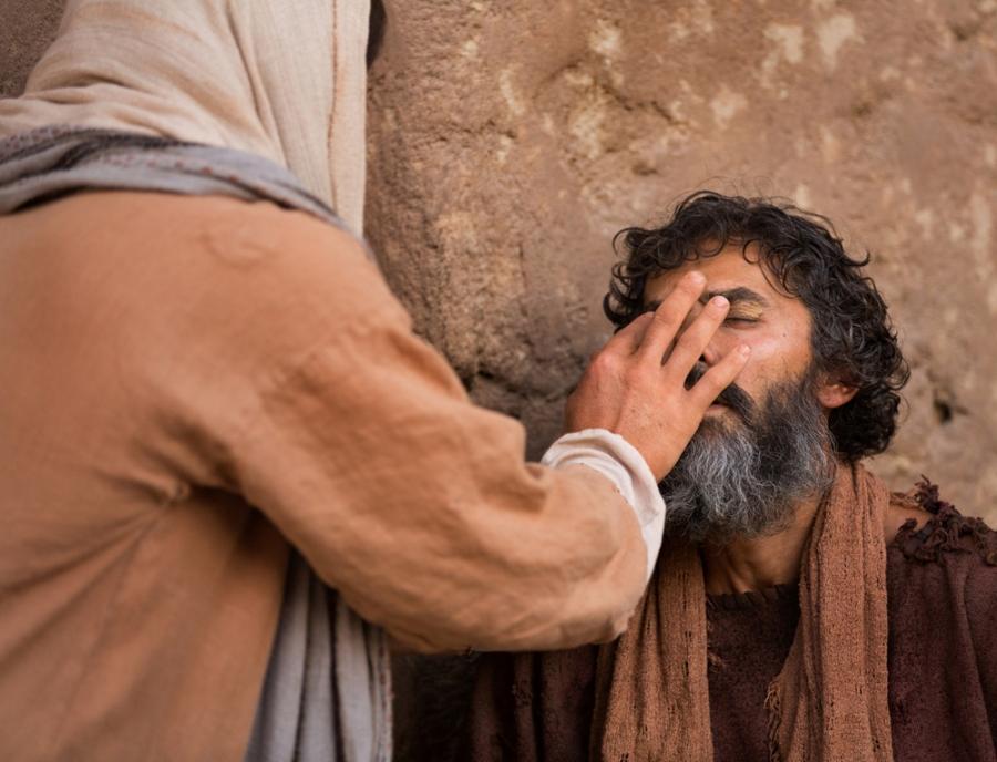 mukjizat menyembuhkan orang buta sejak lahir - lds org